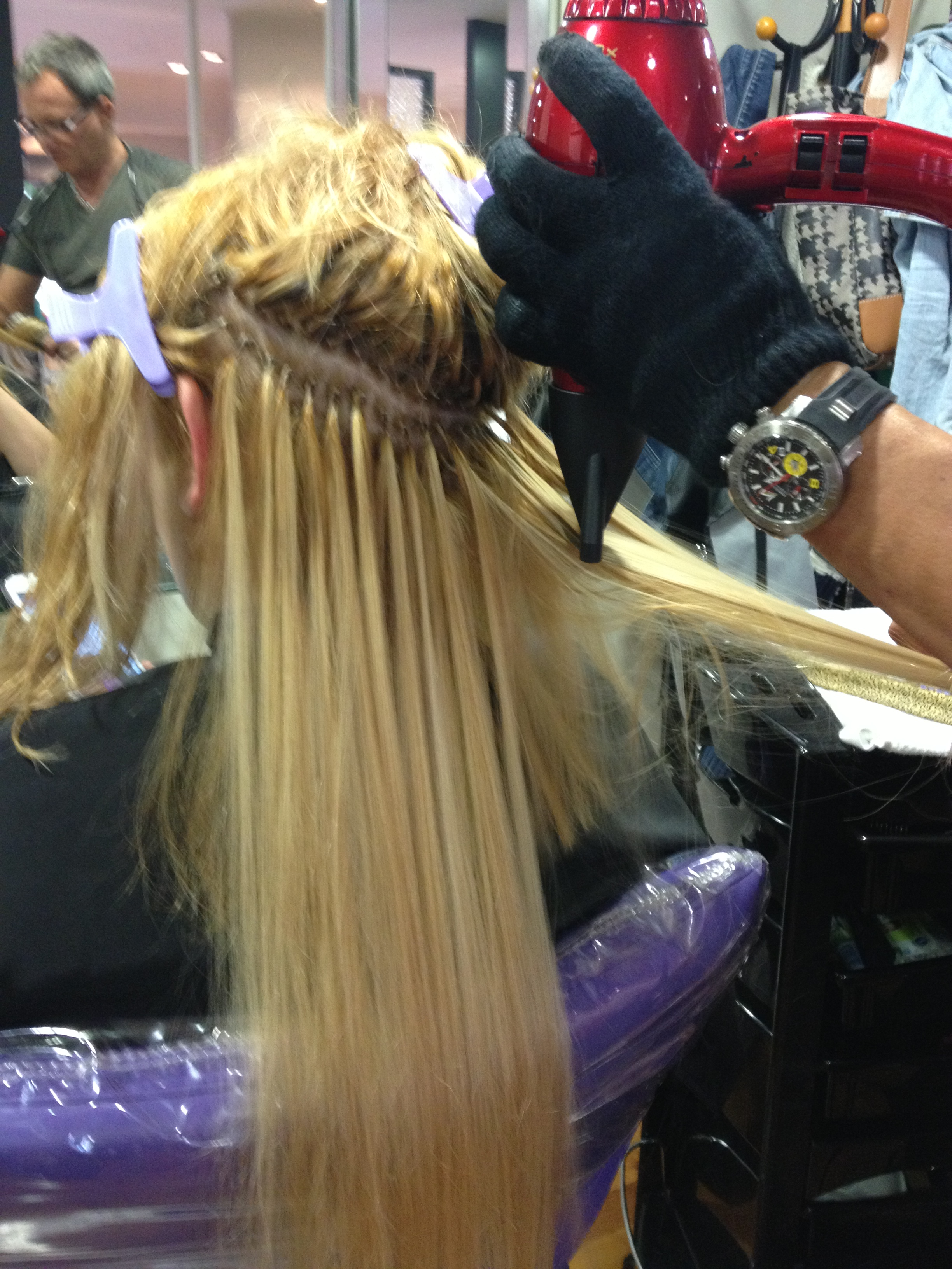Extensiones Con Keratina Mega Hair Keratina